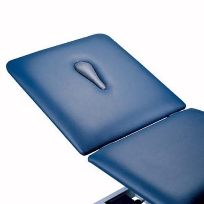 Το κρεβάτι φυσικοθεραπείας Duo G2 διατίθεται προαιρετικά και με οπή προσώπου