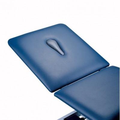 Το κρεβάτι φυσικοθεραπείας Duoplus G2 διατίθεται προαιρετικά και με οπή προσώπου