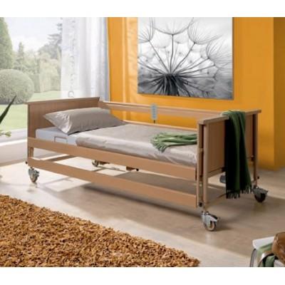 Το νοσοκομειακό κρεβάτι Burmeier Eco II είναι κατασκευασμένο από ξύλο αναβαθμίζοντας αισθητικά το χώρο νοσηλείας στο σπίτι