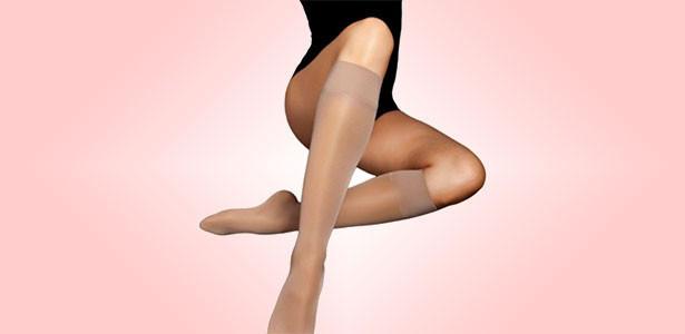 Αντιθρομβωτικές - αντιεμβολικές κάλτσες διαβαθμισμένης συμπίεσης κάτω γόνατος